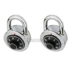 1 to 6 Combination Lock Dial Padlock Hardened 50mm Steel Gym