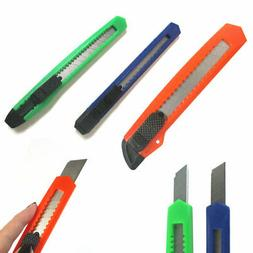 24 Box Cutter/Hobby Retractable Lock Utility Knife with Stro