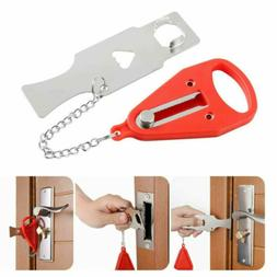 2Set Portable Door Lock Hardware Safety Security Tool  Home