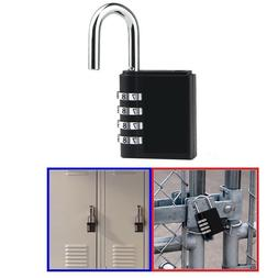 4 Digit Lock Combination Lock Padlocks Luggage Lock for Scho