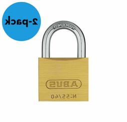 ABUS 55/40 Solid Brass Padlock Keyed Different - Hardened St