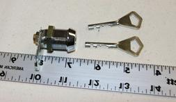 """Abloy 7/8"""" cam lock with 2 working keys & a cam tongue - NEW"""
