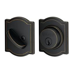 Schlage Lock Company Single Cylinder Deadbolt with Camelot T
