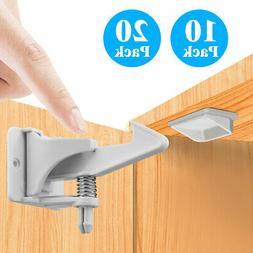 Cabinet Locks Child Safety Latch Baby Home Proof Lock Drawer