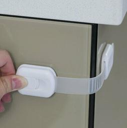 Child Safety Strap Locks  for Fridge, Cabinets, & More By Jo