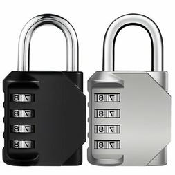KeeKit Combination Lock, 4 Digit Combination Padlock, Waterp