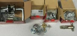 NuSet Entry Lever and 3 Deadbolts x 26d Keyed Alike New