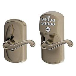 Schlage FE595 PLY 620 FLA Plymouth Keypad Entry with Flex-Lo