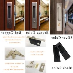 Invisible Door Lock Sliding Wood Barn Door Locks Door Furnit