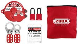 ABUS K905 Safety Lockout Tagout Personal Safety Valve Kit, L