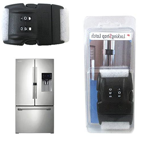 Home Safety 2 Digit Combination Lock Latch Refrigerator Appl