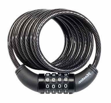 MASTER LOCK CO 6-Ft. Bike Cable With Combination Barrel Lock