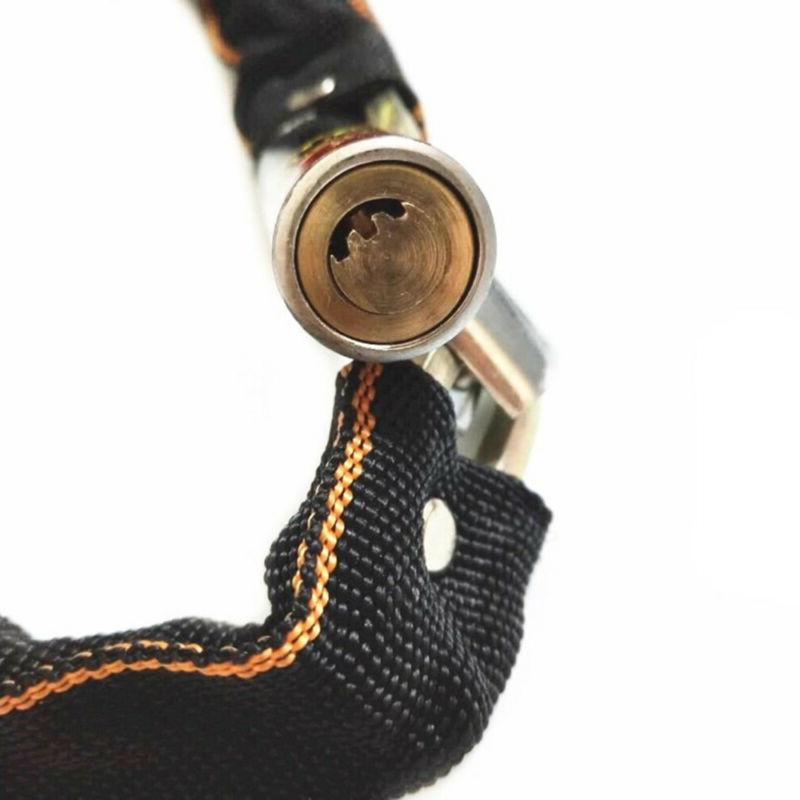 Bike Chain Lock Motorcycle Security Anti-theft.