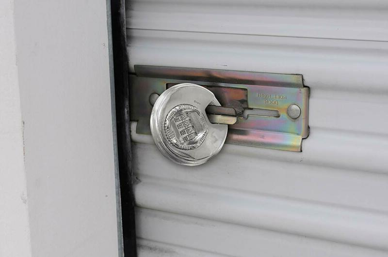 Keeper Brinks 80Mm Shielded Lock With Resettable