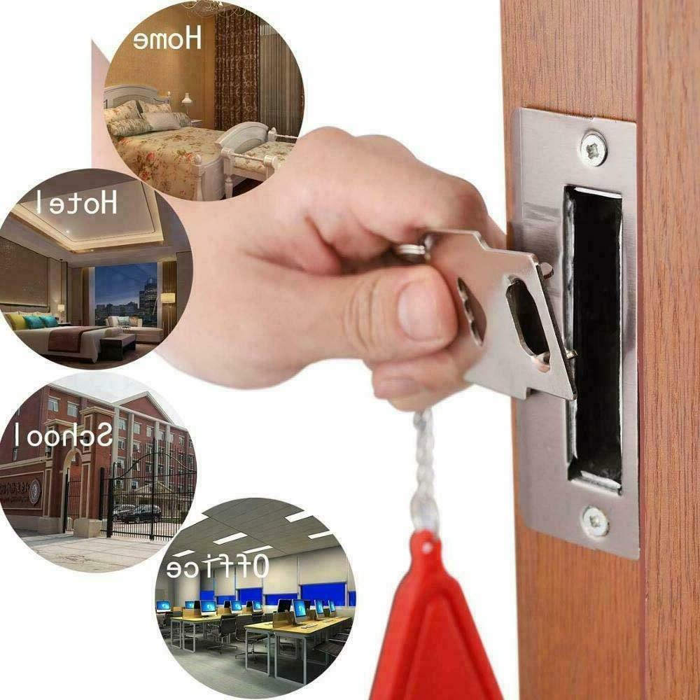 Portable Security Lock Hardware Safety for Home