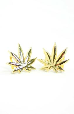 FULLY LACED LEAF LACE LOCKS - GOLD PAIR - NEW DUBRES MARIJUA