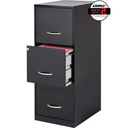 LLR18573 - Lorell SOHO 18 3-Drawer Vertical File