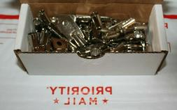 LOT of 50 NEW Tubular Key Blanks 1137S/137S Chicago-ACE-Lock