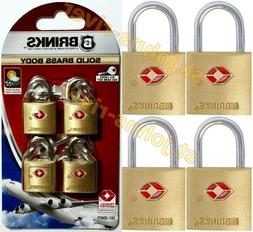 Luggage Lock Solid Brass TSA Approved for Airline Travel Key