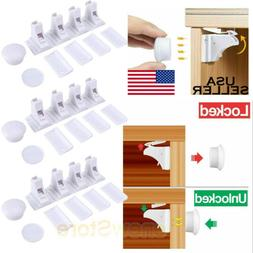 Magnetic Cabinet Locks For Child Baby Proof Safety Cupboard