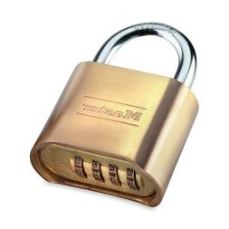 Master Lock No. 178D Combination Padlock 2 inch Wide Solid B