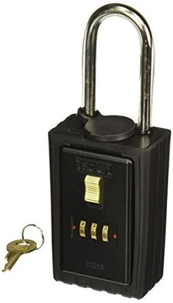 NU-SET 2041-3 3-Letter Combination Lock Box with Combination
