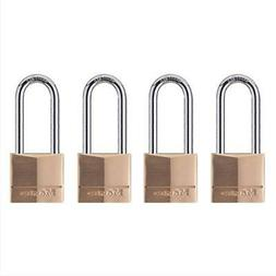 Master Lock Padlock - Keyed Alike - Steel Shackle, Brass Bod