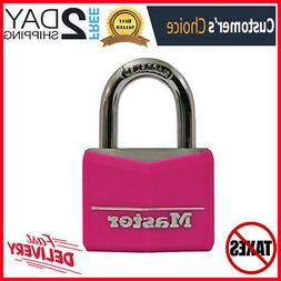 Padlock A Pink Vinyl Covered Aluminum Body For Indoor And Ou