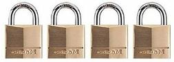 Master Lock Padlock - Keyed Alike - Brass Body, Steel Shackl