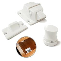 Safety concealed Magnetic Cabinet Locks-No Drilling-8 Locks+