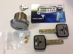 """Mul-T-Lock High Security Mortise Cylinder-MT5- For 1-3/4"""" Do"""