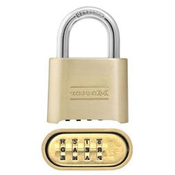 Set Your Own Word Combination Lock, 1 Inch Shackle - Master
