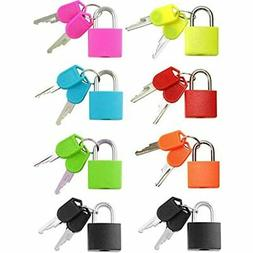 - Small Mini Durable ABS Covered Solid Brass Body Keyed Padl