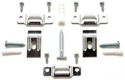 T-Lock security hangers locking hardware set for  wood or al