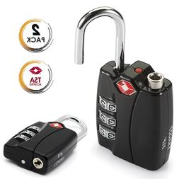 TSA Approved Travel Combination Cable Luggage Locks for Suit