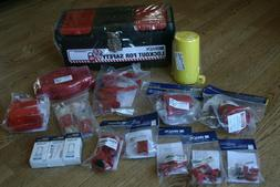 Brady Valve and Electrical Lockout Toolbox Kit, Includes 3 S